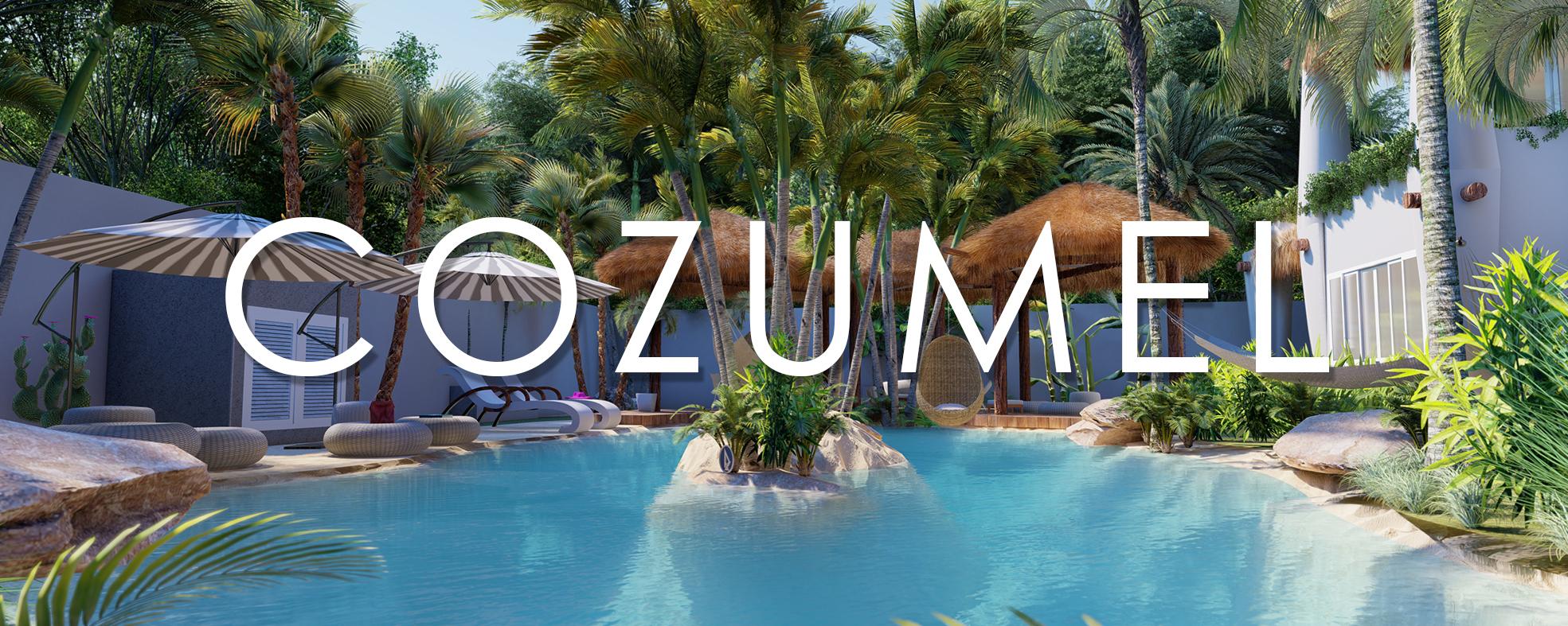 Cozumel es la isla preferida por los amantes del buceo y los apacionados de las playas cristalinas. Se encuentra en el estado de Quintana Roo, en México, a tan solo 60 kilómetros de la ciudad de cancún y separada por un viaje de 45 minutos en ferry desde el muelle de playa del Carmen. Esta isla caribela es uno de los mejores destinos de cruceros en el mundo. Nuestro proyecto se encontrará en una de las zonas más distinguidas dela isla, todo un privilegio para quién busque tranquilidad y exclusividad.